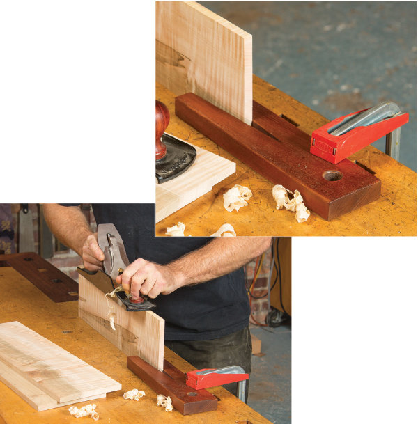 Bench Stops And Hooks