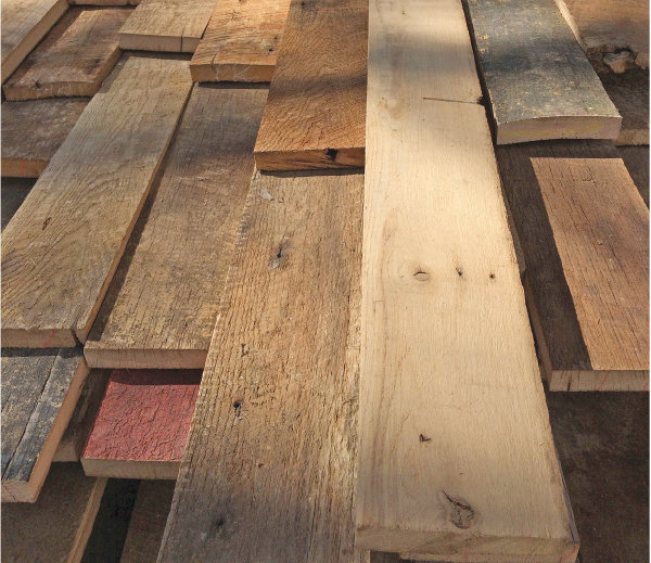 Making Good With Salvaged Wood Give