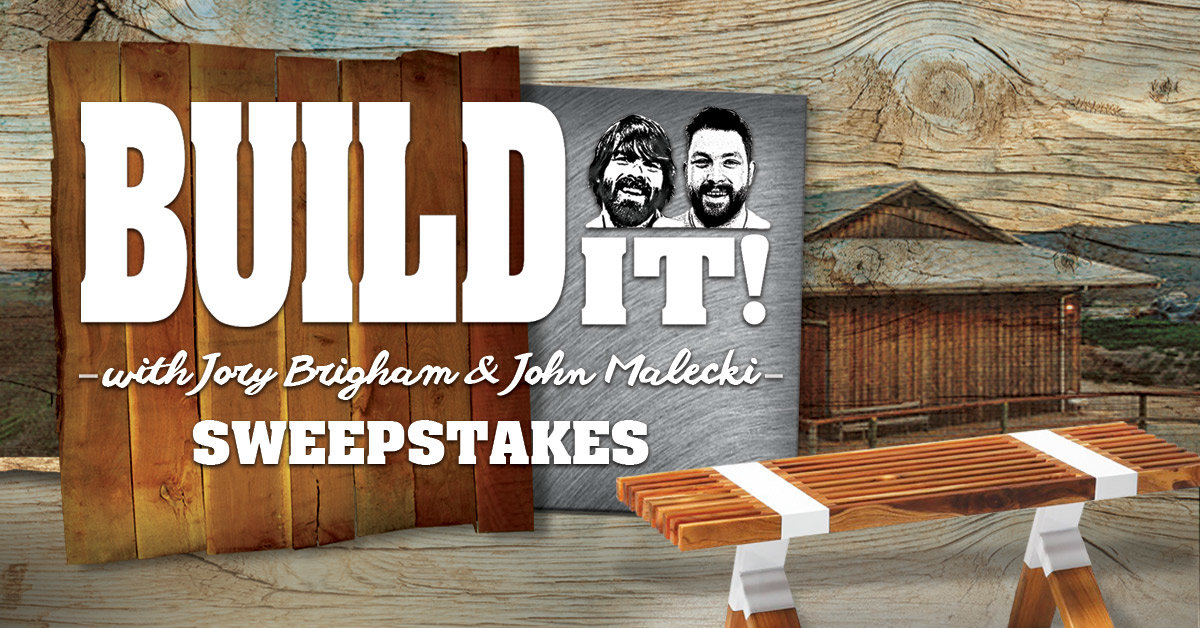 Build It! with Jory & John Sweepstakes