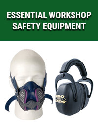 Essential workshop safety equipment