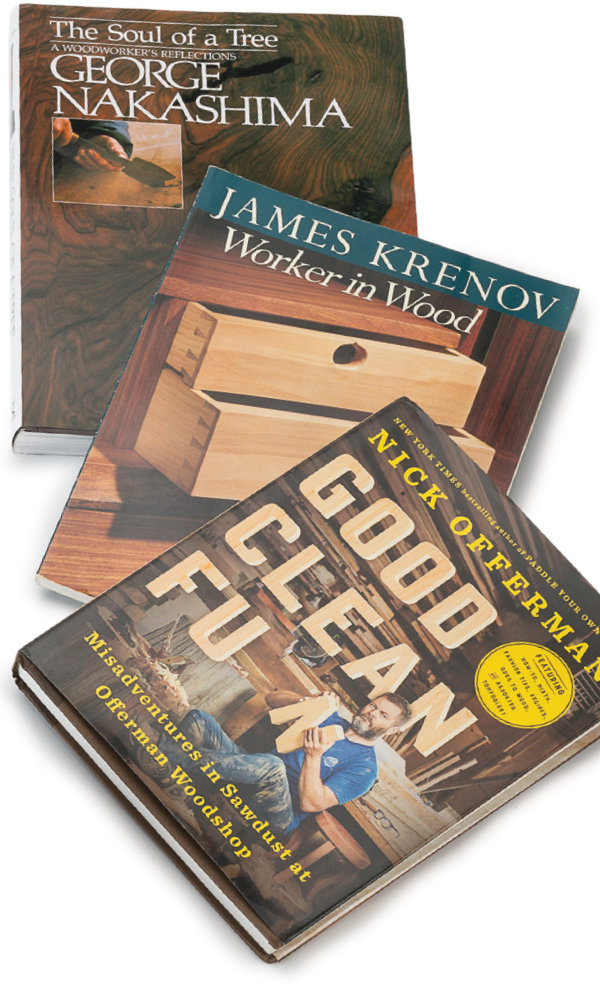 Best Books For Woodworkers