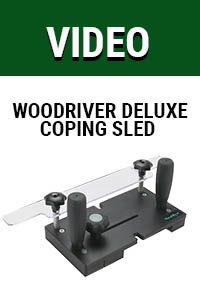 Video: WoodRiver Deluxe Coping Sled