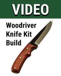 Woodriver Knife Kit Build
