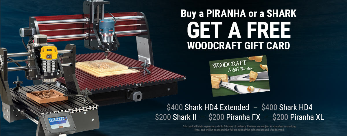 Get a Free Woodcraft Gift Card