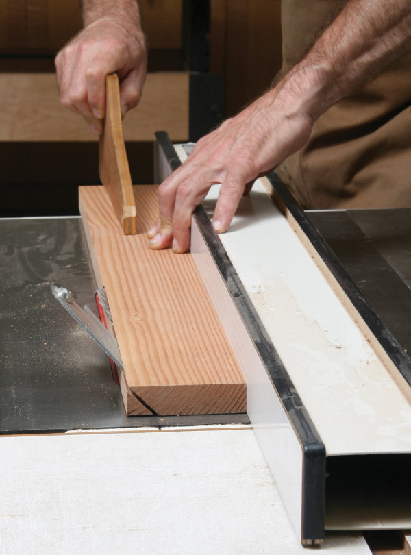 Ripping Bevels on the Table Saw