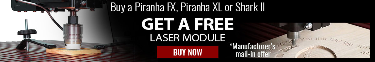 Get a free laser module with Next Wave Automation purchase