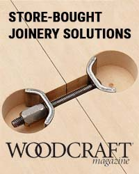 Store bought joinery solutions