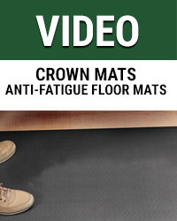 Crown Mats Anti-Fatigue floor mats