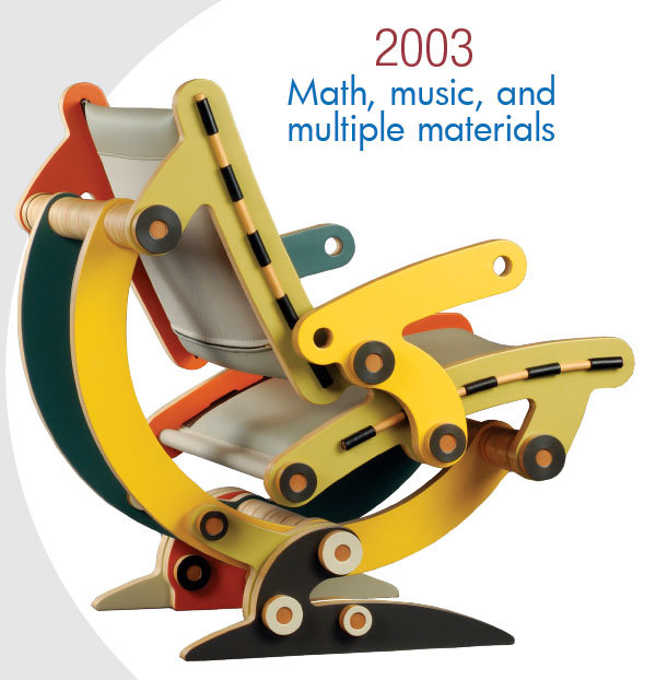 2003 Math, music, and multiple materials
