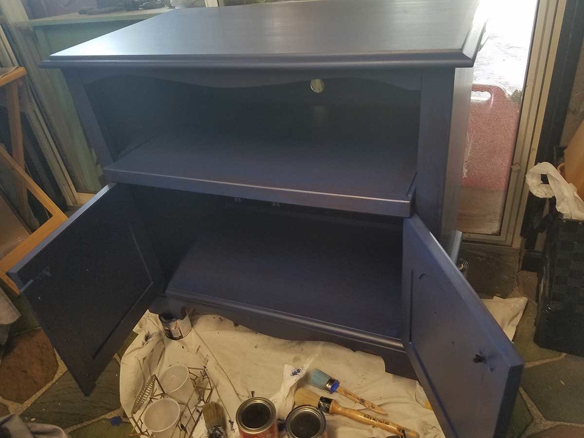 TV Stand GF China Blue