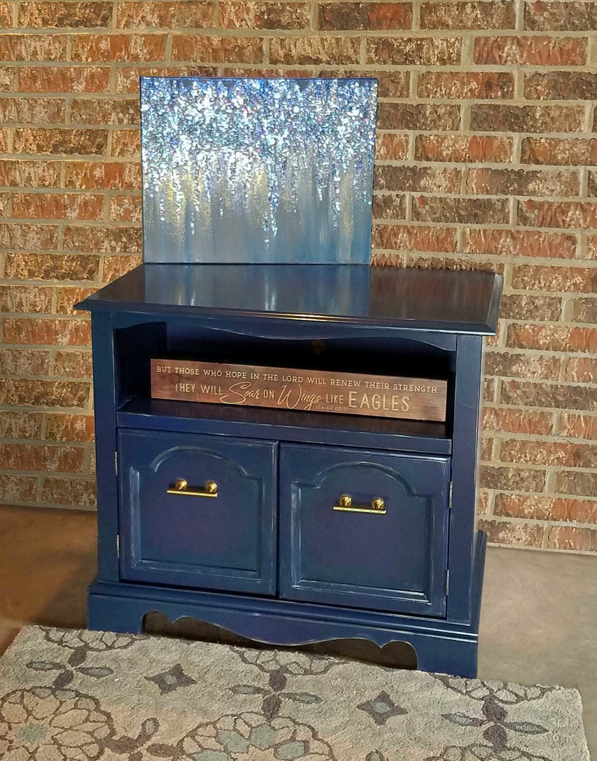 TV Stand makeover