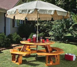 7 octagonal picnictable 161161