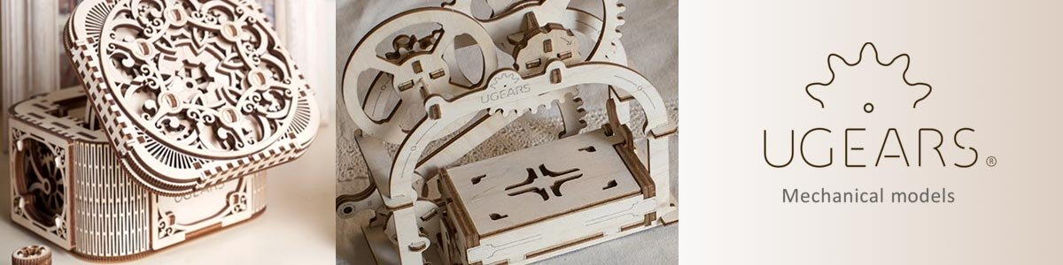 Fun New UGears STEM Kits