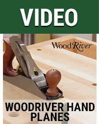 Video WoodRiver Hand Planes