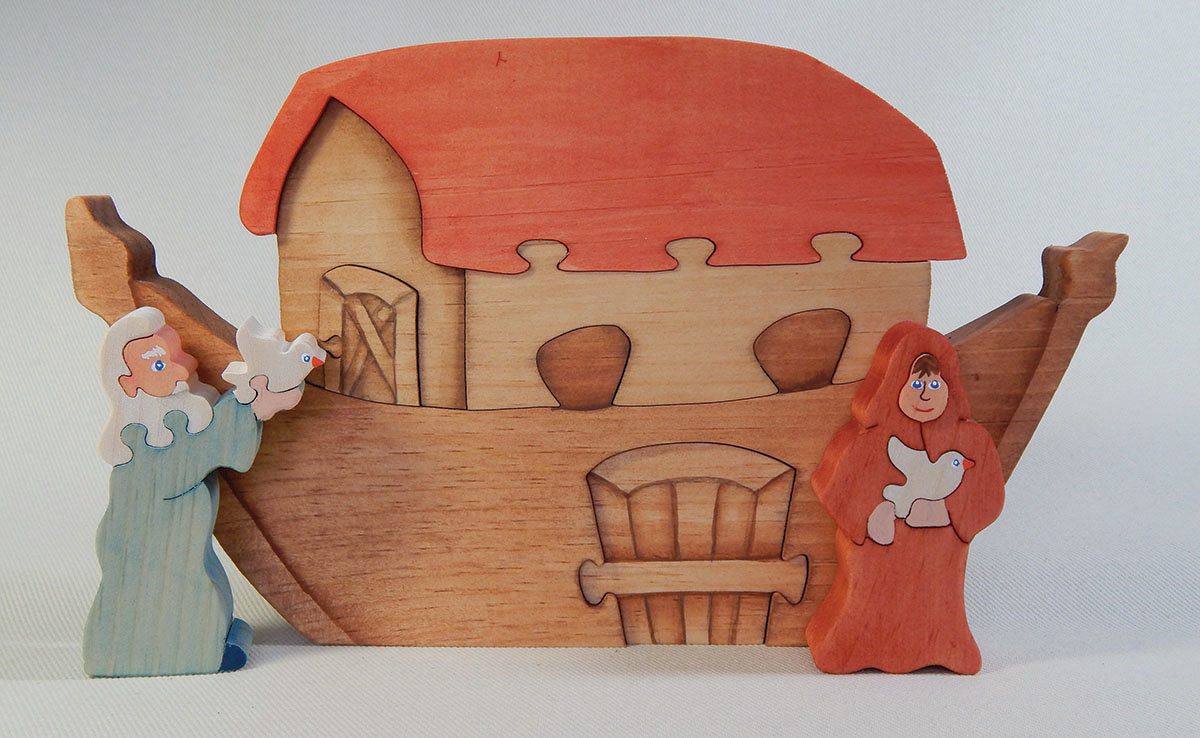 Noah's Ark Scroll Saw Puzzle