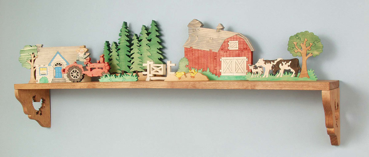 Down on the Farm Scroll Saw Puzzle