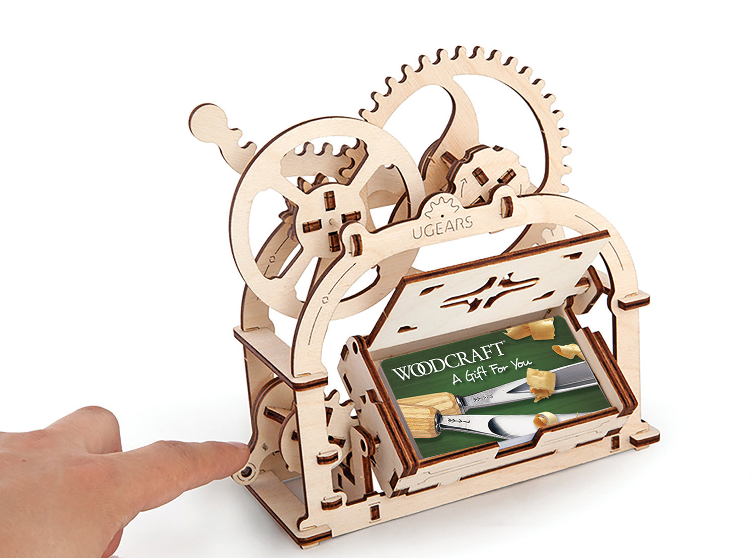 UGears 3-D Mechanical Etui Box