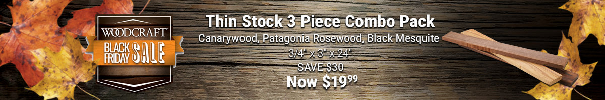 Thin stock combo pack now $19.99