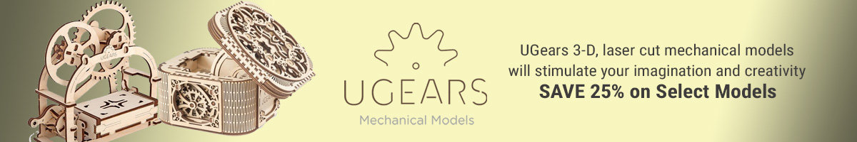 Save 25% on select UGears models