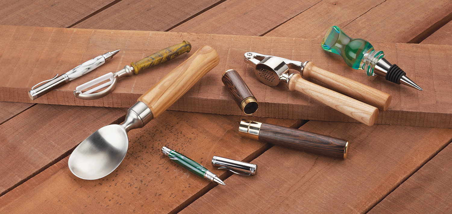 Small Woodturning Kits