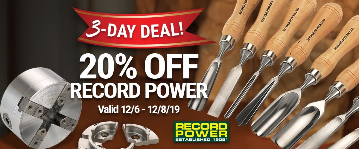 20% Off Record Power this Weekend Only