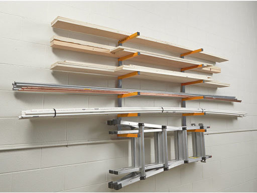 BORA Portamate 6-Shelf Wood Rack