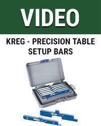 Kreg Precision Table setup bars