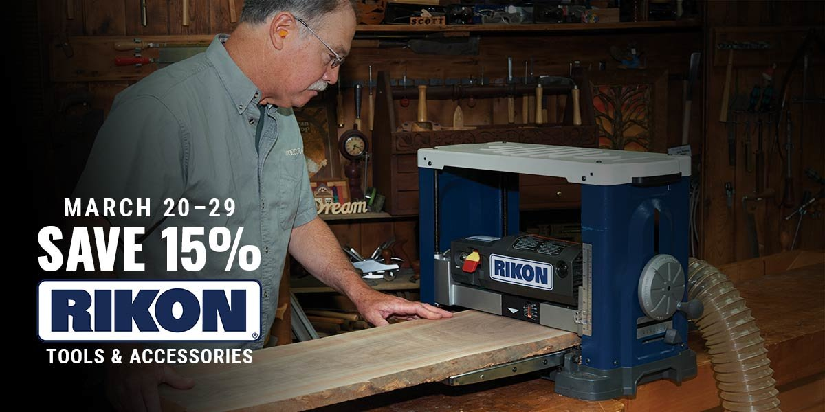 15% Off RIKON Tools for a Limited Time