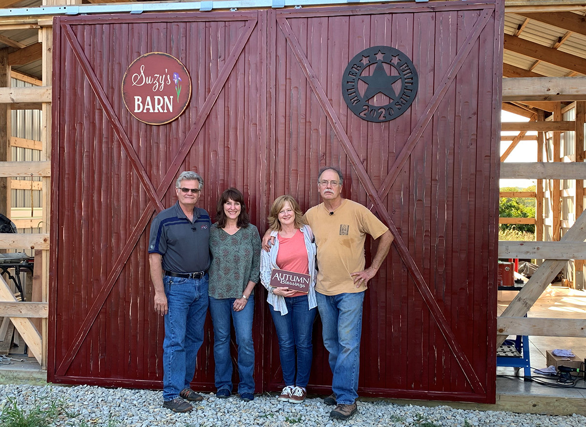 Scott and Suzy Phillips The American Woodshop with Tom and Sheryl Monahan