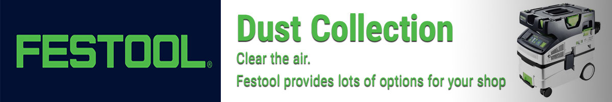 Festool Dust Collection. Clear the air.
