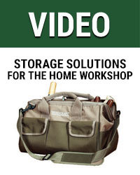 Storage solutions for the Home Workshop