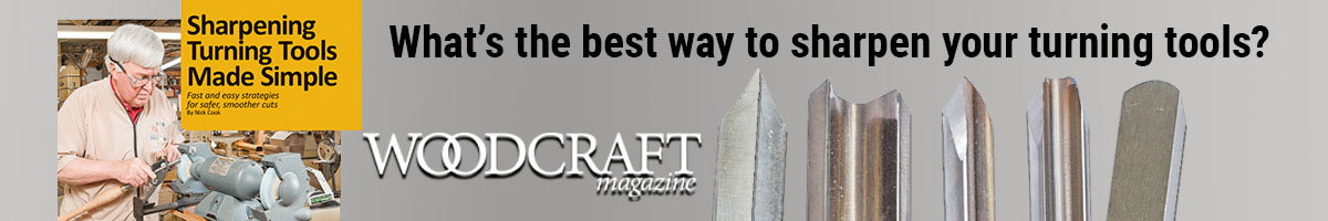 What's the best way to sharpen your turning tools?