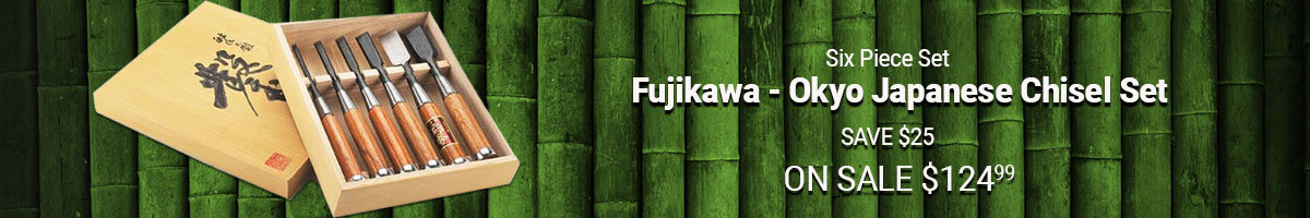Save $25 on Fujikawa Chisel Set
