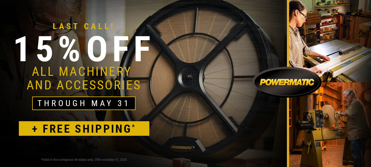 Powermatic is Still 15% Off! Get yours
