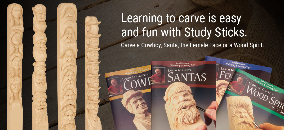 All New Study Sticks Help You Learn to Carve