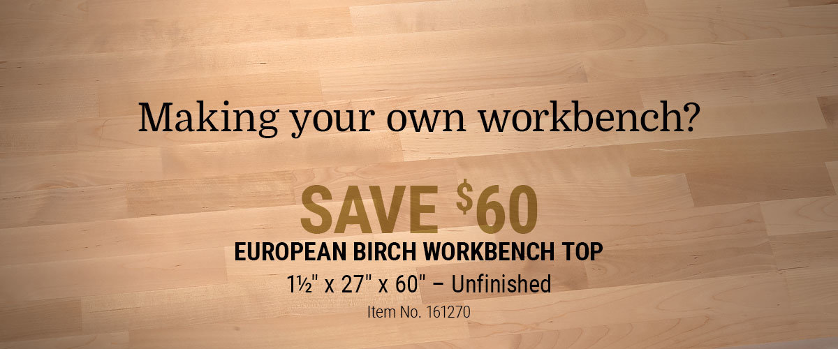 Make a workbench and Save $60