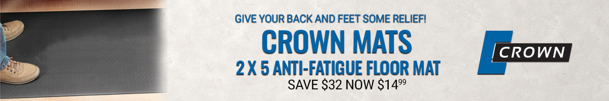 Save $32 on Crown Mats floor mat