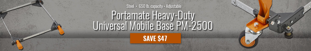 Save $47 on Portamate mobile base