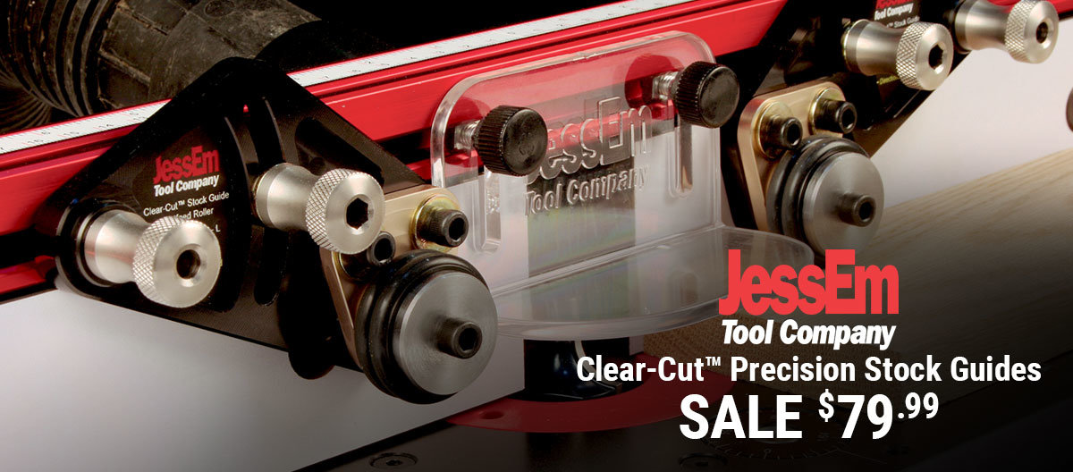 Take $20 Off JessEm Clear-Cut Stock Guides