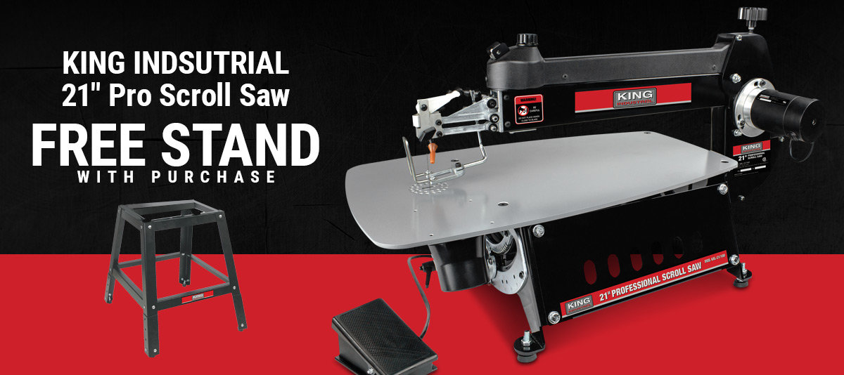 Get a Free Stand with Pro Scrollsaw Purchase