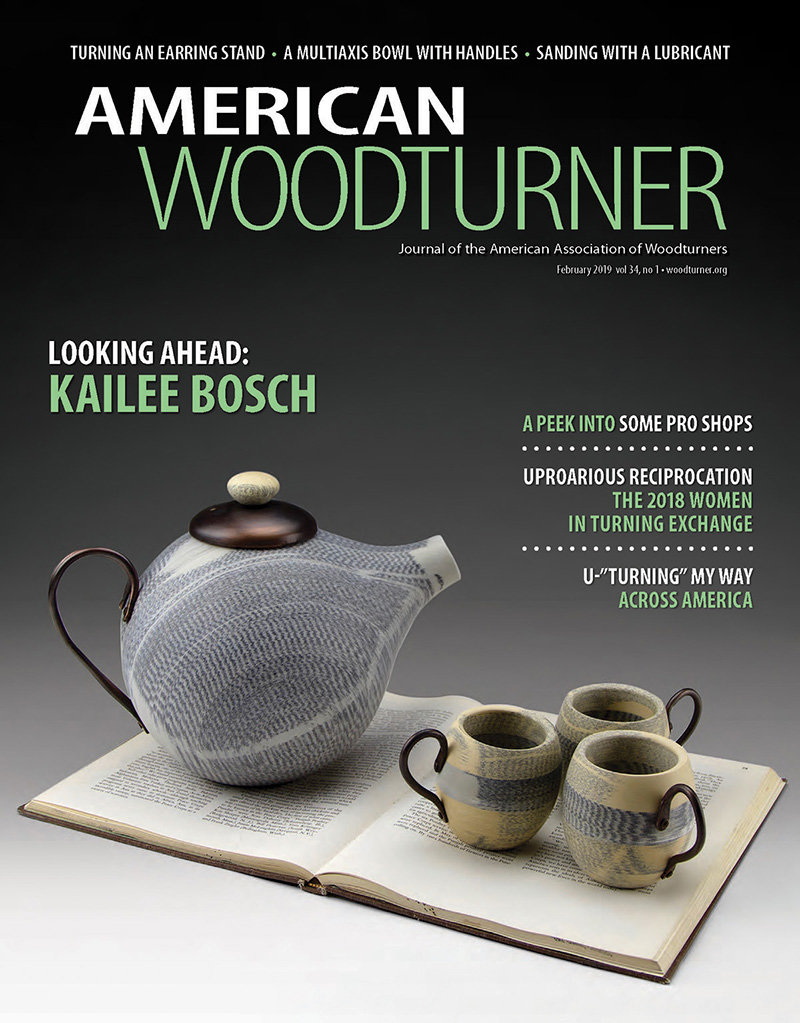 American Woodturner Kailee Bosch cover