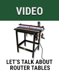 Let's talk about router tables