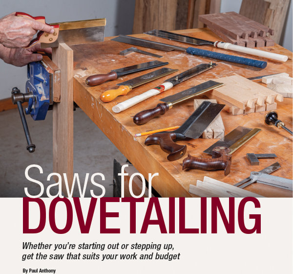 Saws for dovetailing