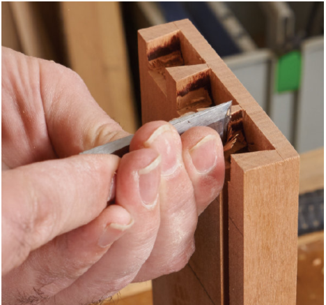 Joinery Class: Half-Blind Dovetails