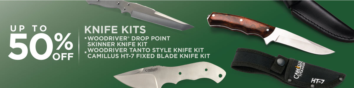 SAVE UP TO 50% OFF KNIFE KITS Now Through April 30, 2021