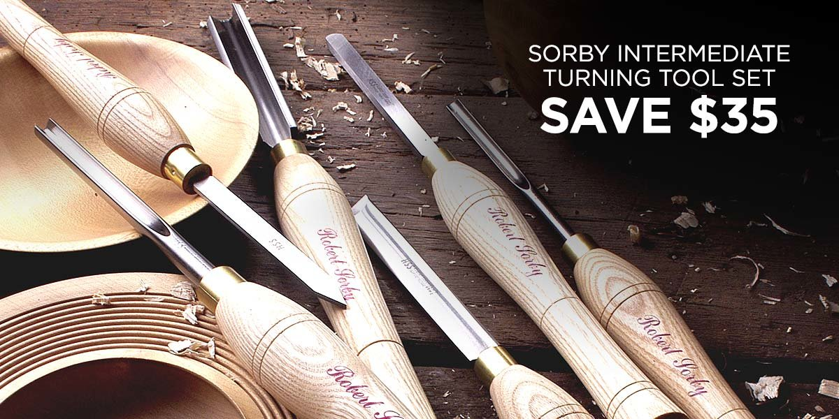 $35 Off Sorby Turning Tool Set