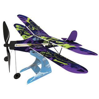 Playsteam rubberband powered plane model
