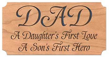 scroll saw father's day gift idea