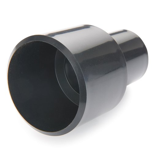 "View a Larger Image of 1-1/4"" ID to 2-1/4"" OD Adapter Dust Collection Fitting"