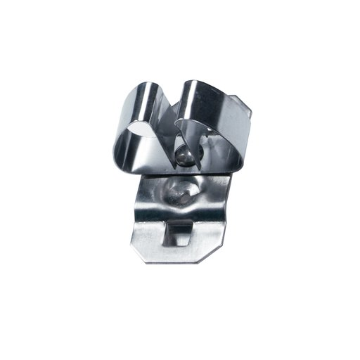 View a Larger Image of 1/4 In. to 1/2 In. Hold Range 2-3/4 In. Projection Stainless Steel Standard Spring Clip for Stainless Steel LocBoard, 3
